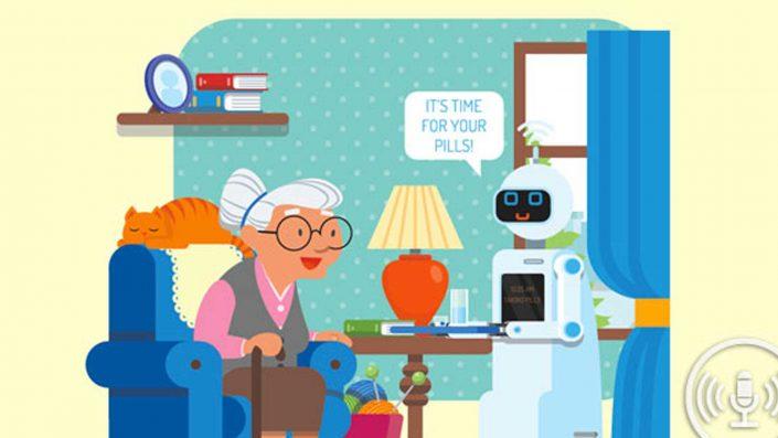SAM, le robot qui veut du bien aux seniors