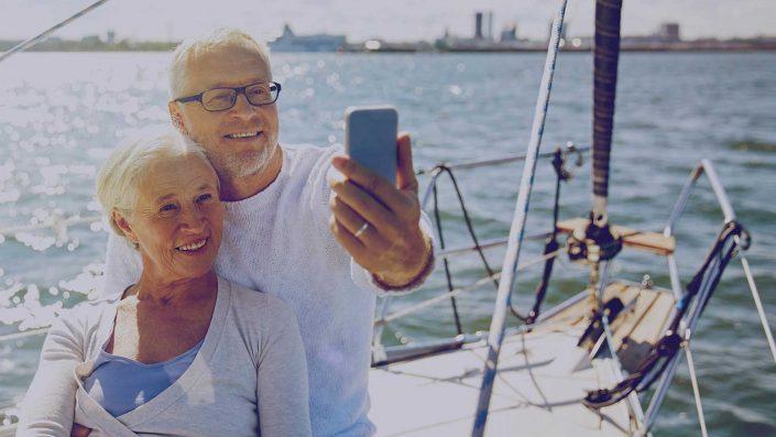 Les seniors et les smartphones