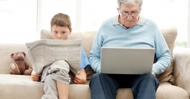 Les seniors se méfient d'internet