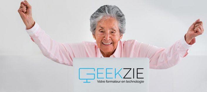Geekzie réconcilie les seniors et l'informatique