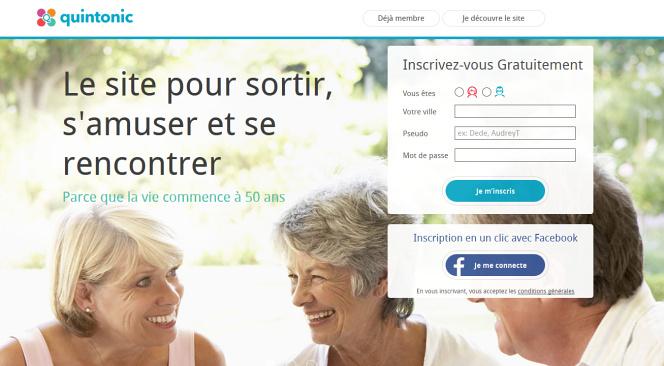 Quintonic, le site de rencontre des seniors